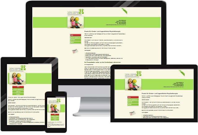 Arzt Praxis Psychotherapie Homepage