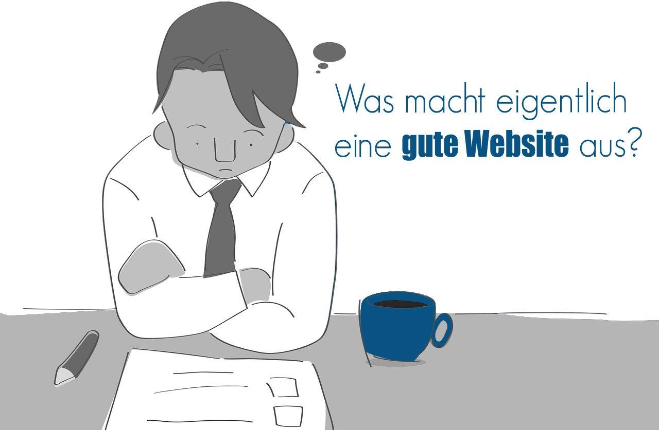 Gute Webseiten - was macht sie aus? Fünf Qualitätskriterien.