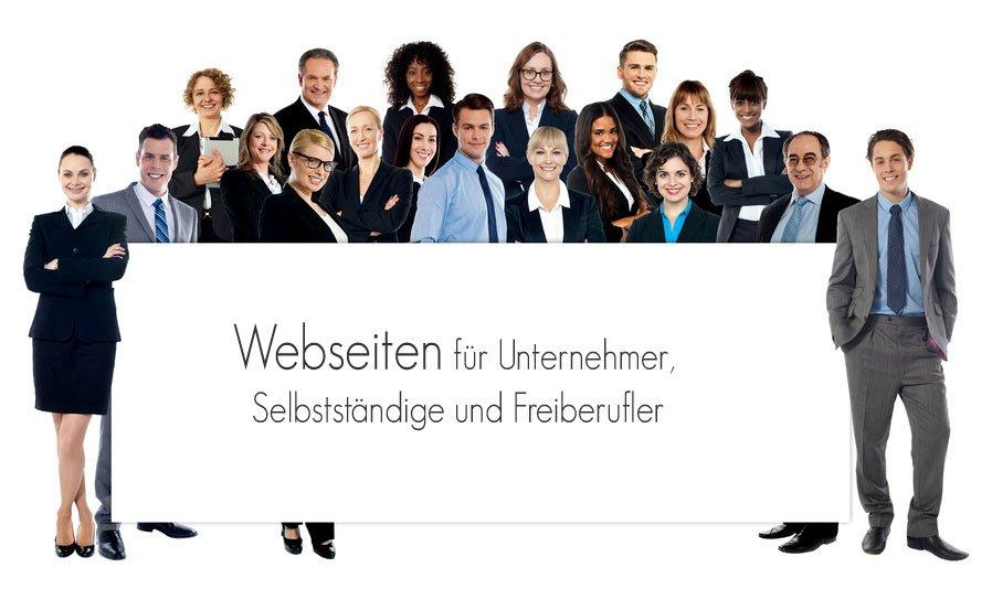Website erstellen lassen - Webdesign für Unternehmer, Selbstständige und Freiberufler