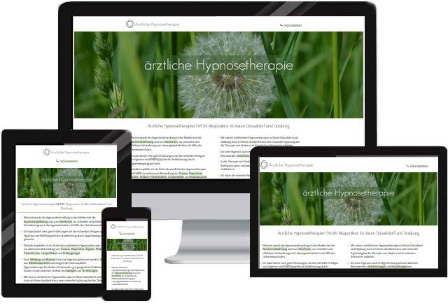 Arzt Praxis Hypnose Homepage