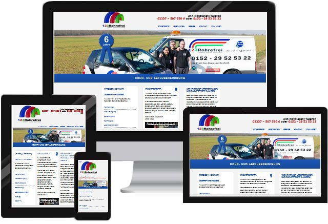 Handwerker Installateur Homepage