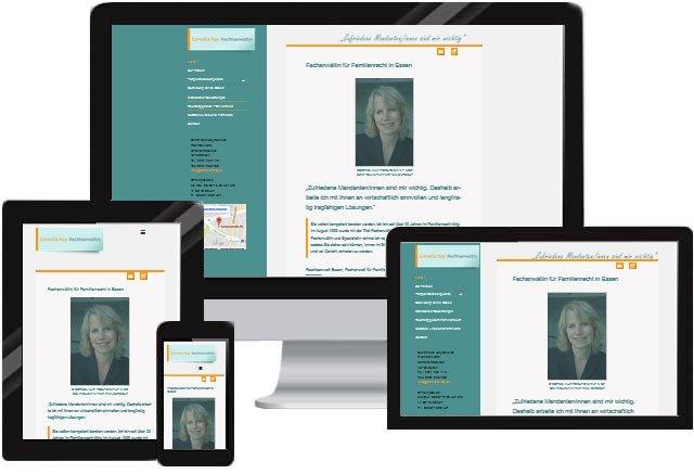 Recht Rechtsanwalt Homepage