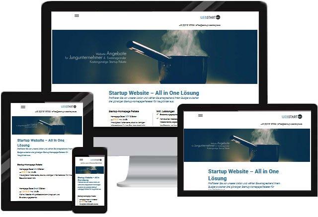 Webdesign Startups