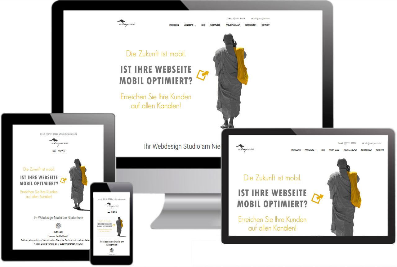Website für mobile Geräte optimieren