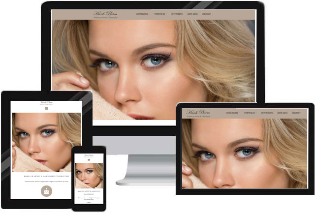 Visagistin Makeup Artist Website