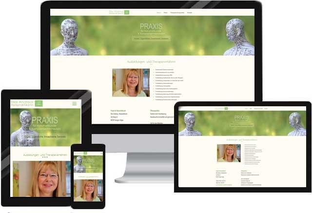 Webdesign für Akupunktur Praxis