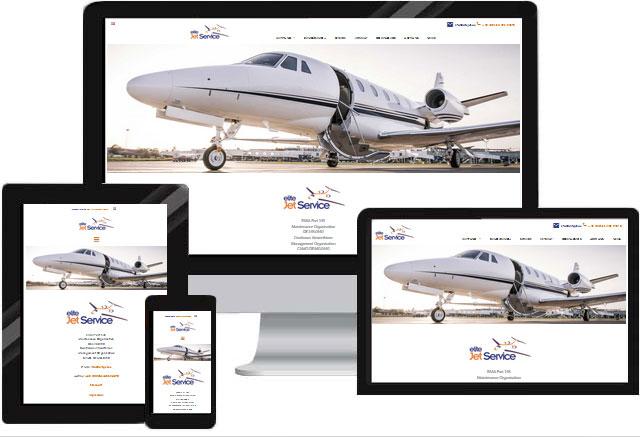 Website Flugzeugwerft