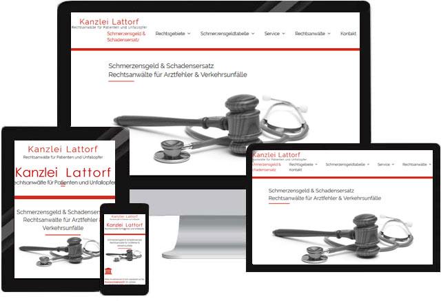 Webdesign für Anwälte und Kanzleien