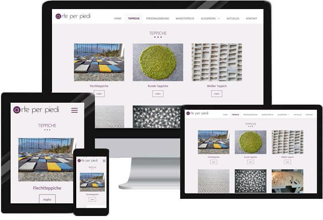 Webdesign für Künstler und Künstlerhändler