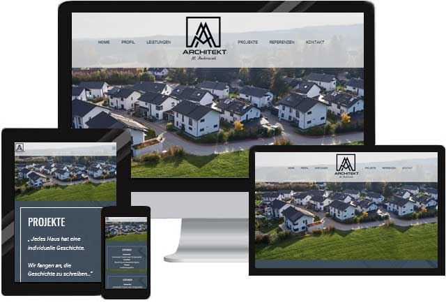 Architekt Website