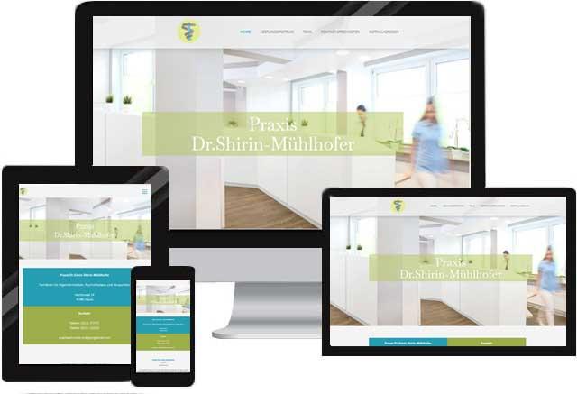 Webdesign für Arztpraxis