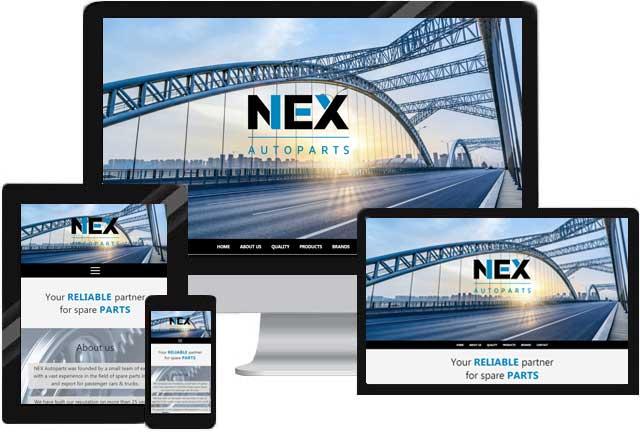 Webdesign für Groß und Außenhandel Unternehmen