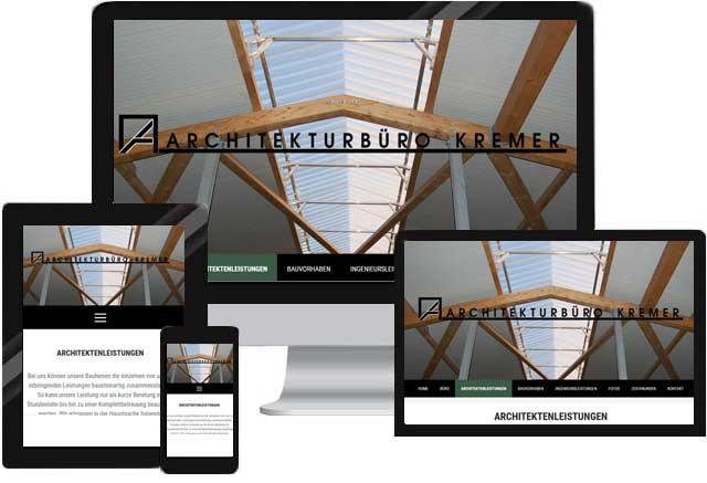 Webdesign für Architekturbüro