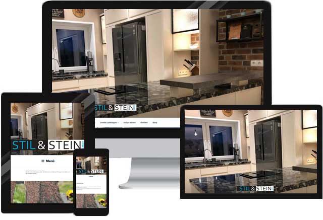 Webdesign für Steinmetz/ Steinbildhauer