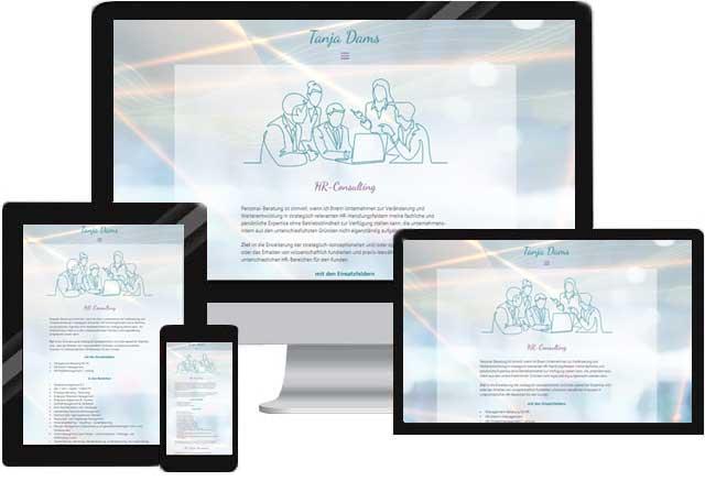 Webdesign für HR Beratung HR Consulting